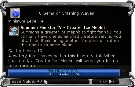 Gems of Crashing Waves item DDO