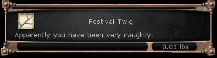 Festival Twig item DDO